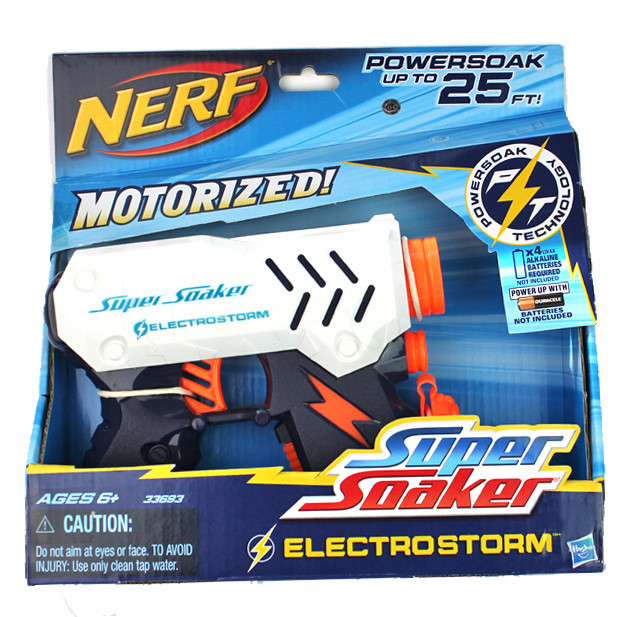 "Hasbro Nerf Super Soaker Водный бластер ""Электрошторм"""