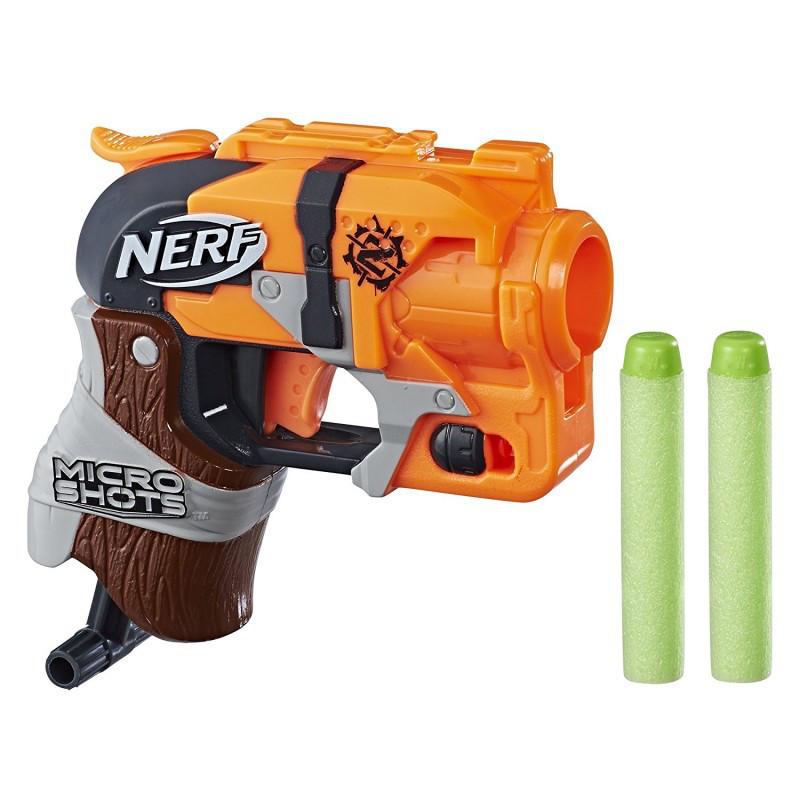 "Hasbro Nerf Zombie Strike Micro Shots Пистолет Бластер ""Хаммершот"" (Hammershot)"
