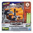 "Hasbro Nerf Zombie Strike Micro Shots Пистолет Бластер ""Хаммершот"" (Hammershot), фото 2"