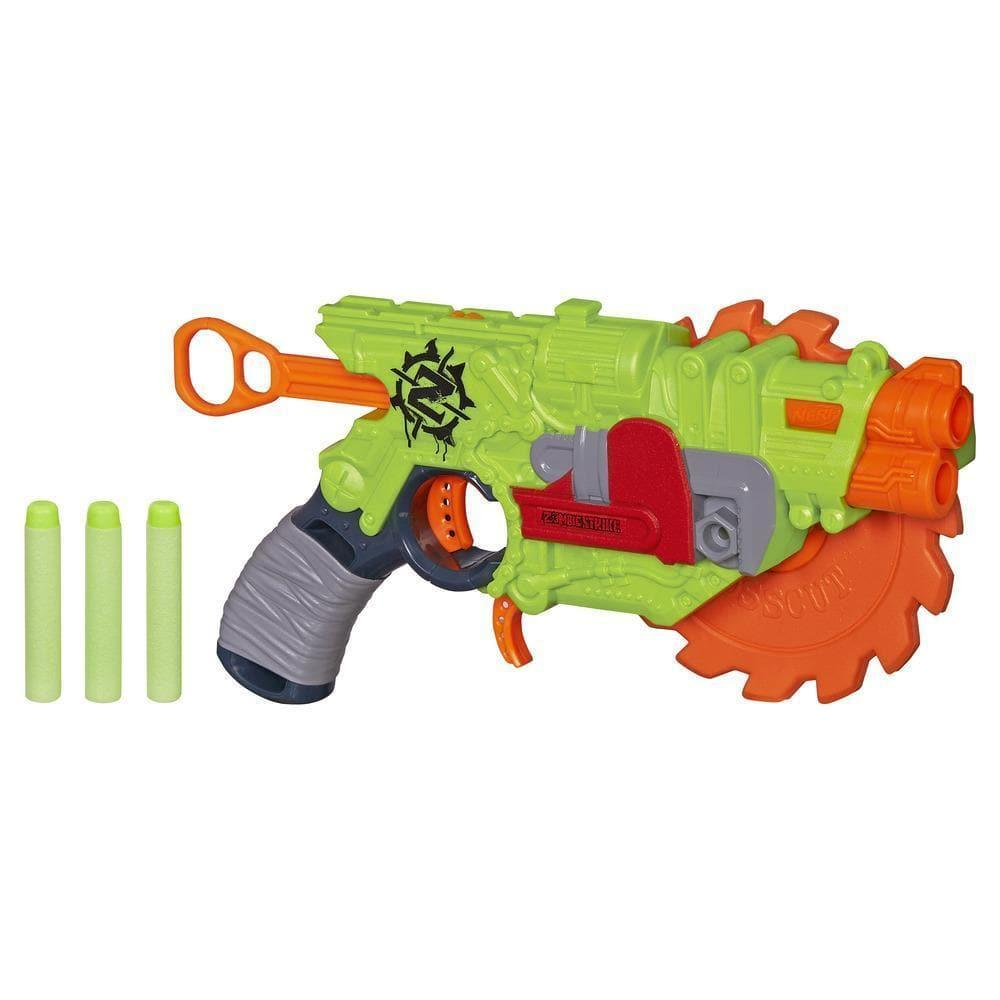 "Hasbro Nerf Zombie Strike Бластер - Пила ""Кроскат"" (CrossCut)"