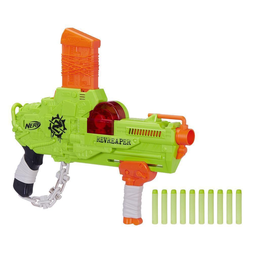 "Hasbro Nerf Zombie Strike Бластер ""Реврипер"" (Revreaper)"