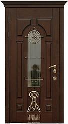 Входная Дверь «Русь со стеклом (Дуб)»