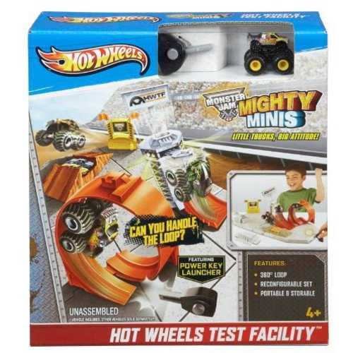 "Hot Wheels ""Mighty Minis"" Monster Jam Test Facility"