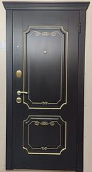 Входная Дверь «А 15.21 Венге+золотая патина»
