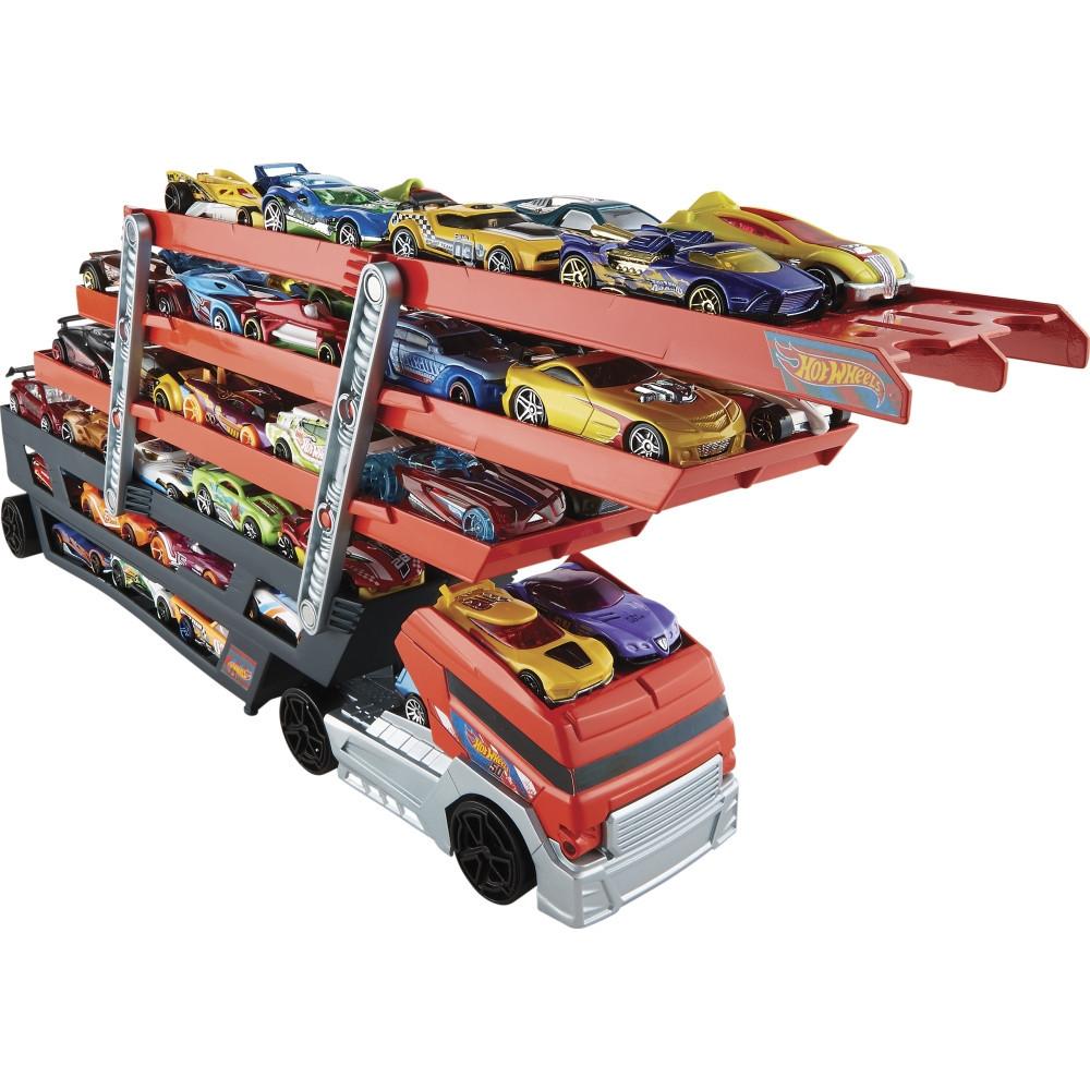 Hot Wheels Mega Hauler, Мега Автовоз на 50 машинок