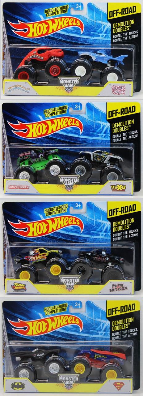 """Hot Wheels Monster Jam """"Противостояние"""" 2 машинки"""