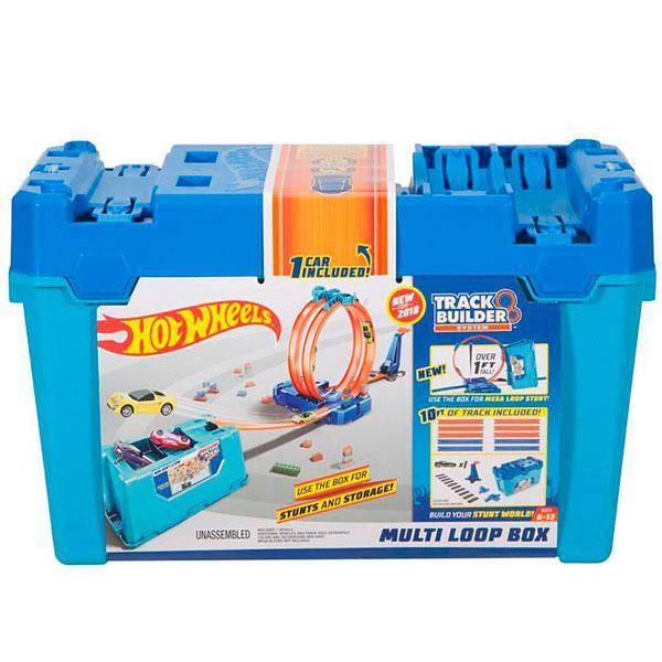 "Hot Wheels Track Builder ""Коробка с несколькими петлями"", Хот Вилс Конструктор трасс"