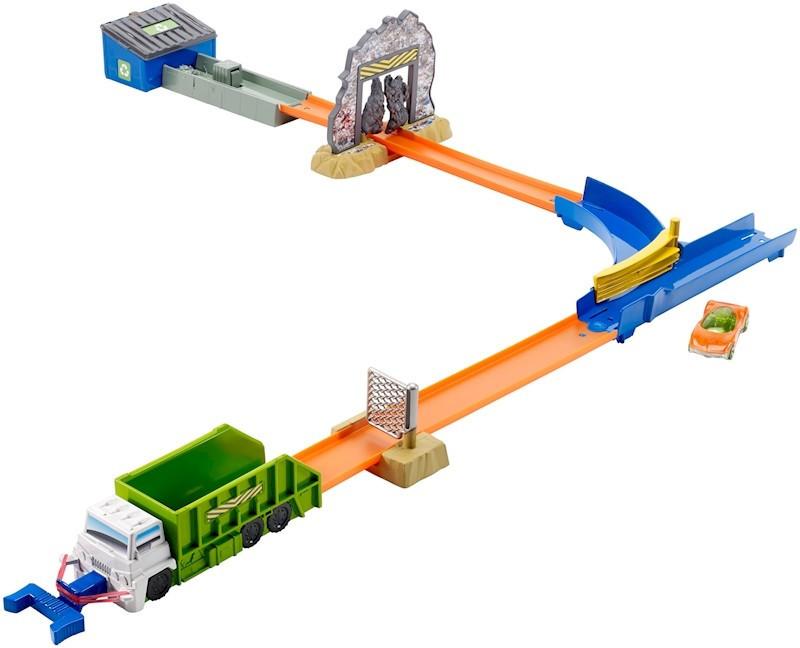 Hot Wheels Track Builder Gar мусоровоз