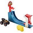 "Hot Wheels Игровой набор ""Monster Trucks: Большой воздушный удар"", Хот Вилс, фото 3"