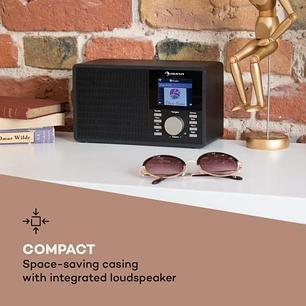 IR-160 Интернет-радио WLAN USB AUX, фото 2