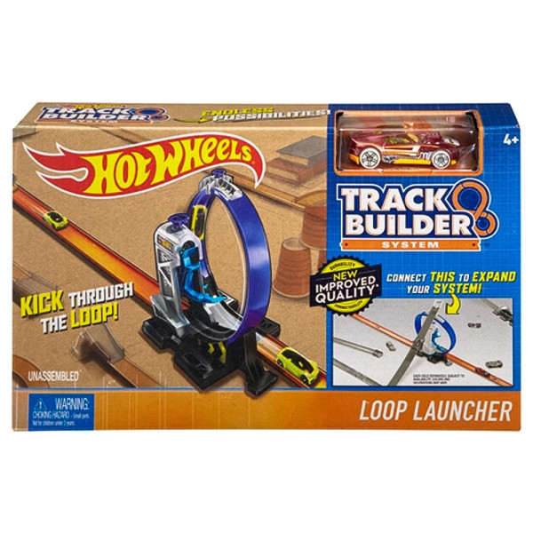 Hot Wheels Пусковая установка с петлей