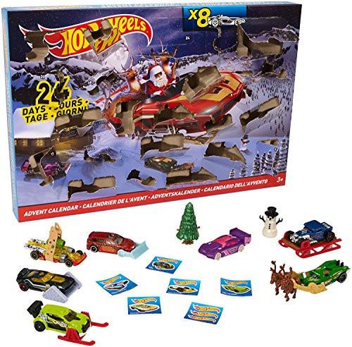 Hot Wheels Рождественский Набор