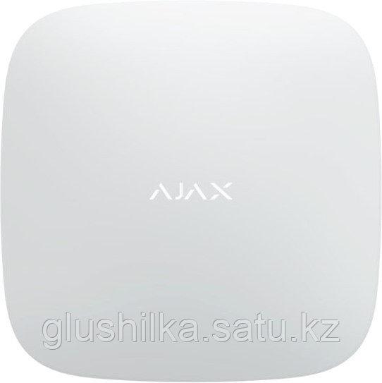 Централь охранная Ajax Hub Plus белая