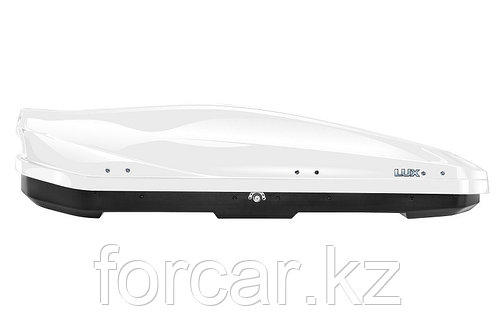 Бокс LUX IRBIS 175 белый глянцевый 450 л (175х85х40 см.) с двусторонним открыванием, фото 2