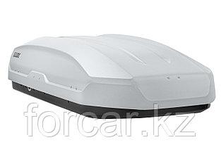 Бокс LUX TAVR 197 серый матовый 520л. (197х89х40 см.) с двусторонним открыванием, фото 3
