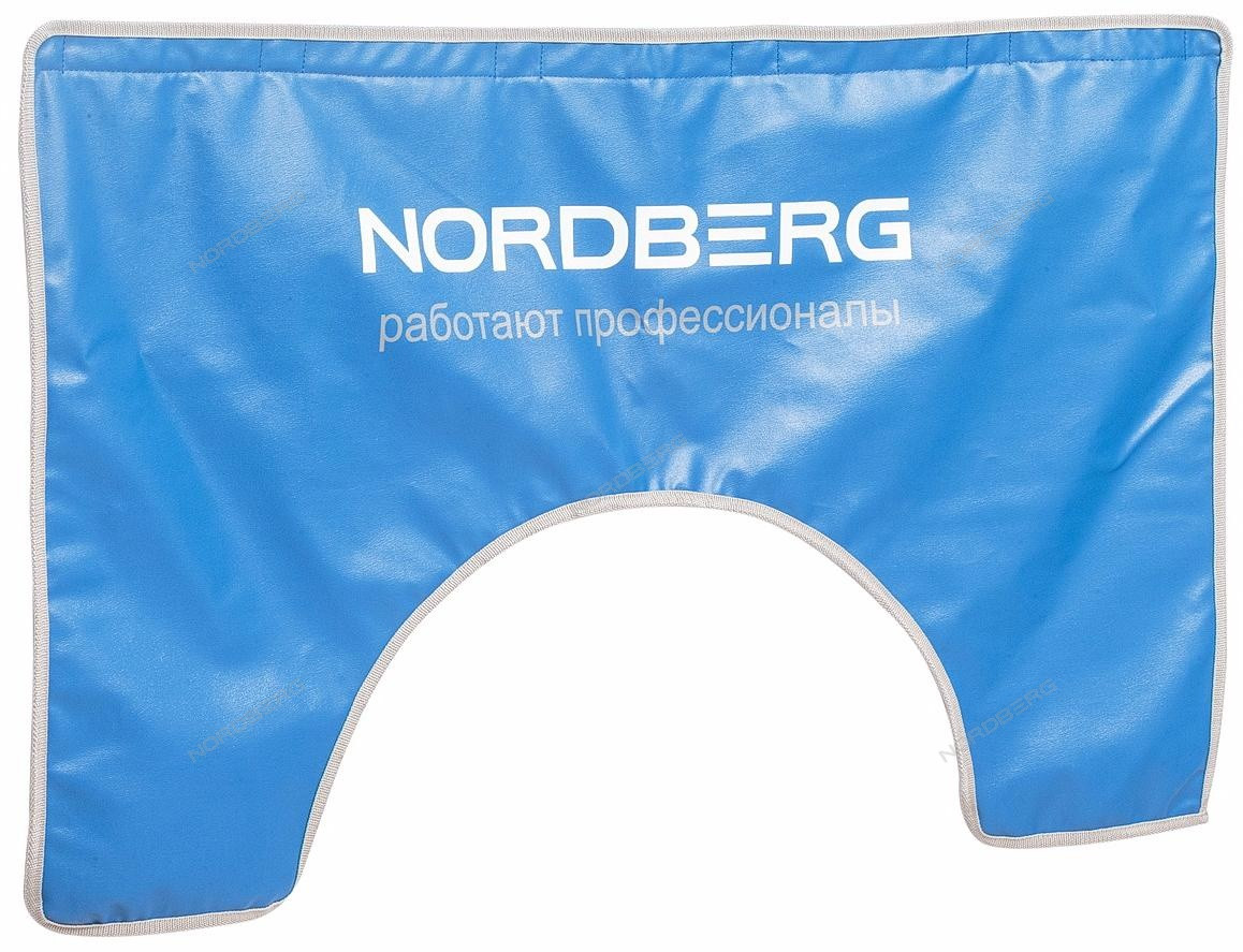 НАКИДКА NN1 на крыло 110х65 с магнитом и подкладкой, с лого NORDBERG
