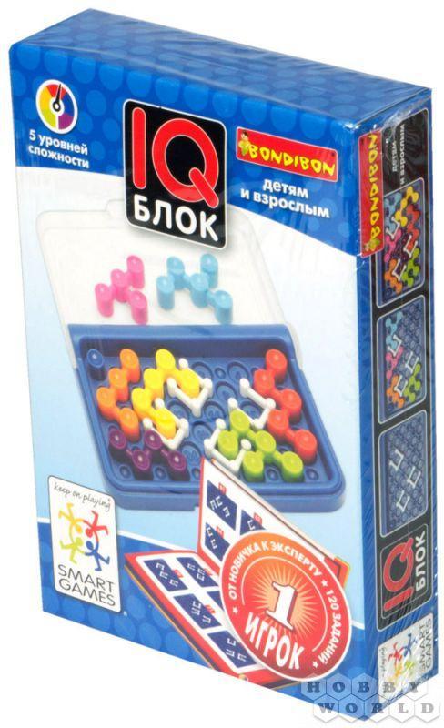 Настольная игра: IQ-Блок