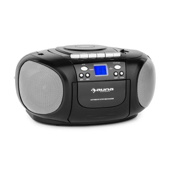 Радио BoomBoy, CD и кассетный плеер Auna