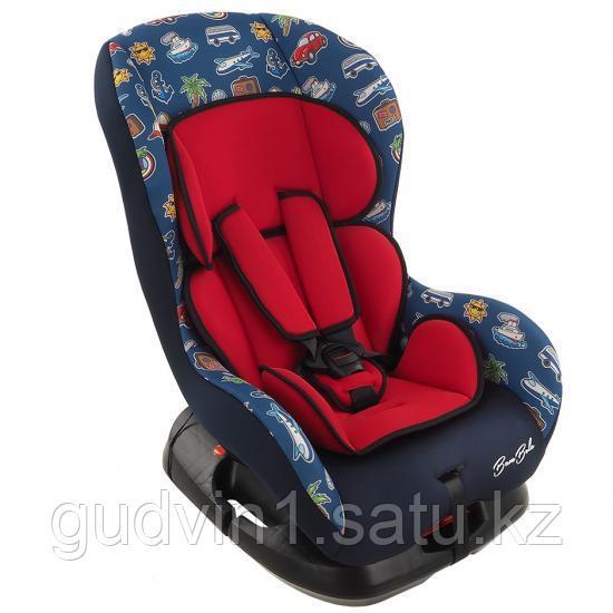 Автокресло 0-18 кг BAMBINO Темно-Синий/ Красный BAMBOLA KRES2339