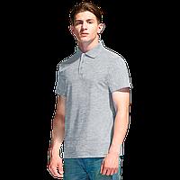 Базовая рубашка поло , StanPremier, 04, Серый меланж (50), XXL/54