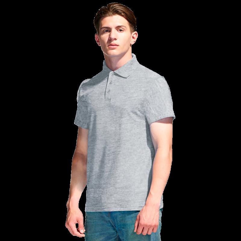 Базовая рубашка поло , StanPremier, 04, Серый меланж (50), XXXL/56