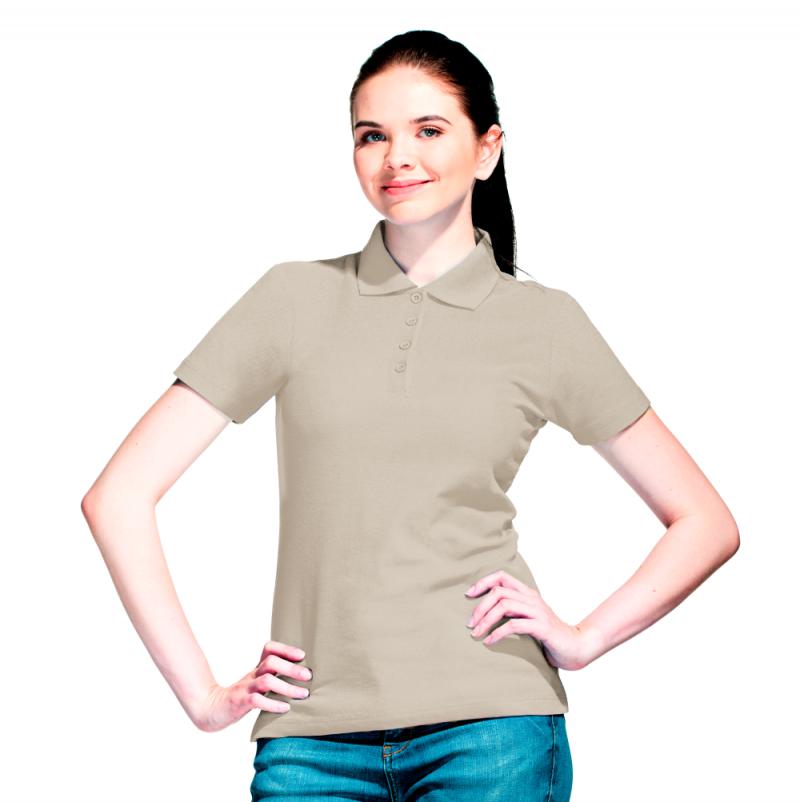 Базовая рубашка поло , StanWomen, 04WL, Светло-серый (72), M/46