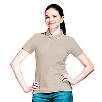 Базовая рубашка поло , StanWomen, 04WL, Светло-серый (72), XS/42