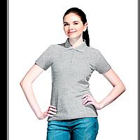 Базовая рубашка поло , StanWomen, 04WL, Серый меланж (50), S/44