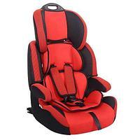 """Детское автомобильное кресло SIGER """"Стар ISOFIX"""" красный, 1-12 лет, 9-36 кг, группа 1/2/3"""