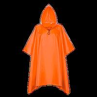 Дождевик-пончо на кнопках, StanSun, пончо, Оранжевый (28), S/46