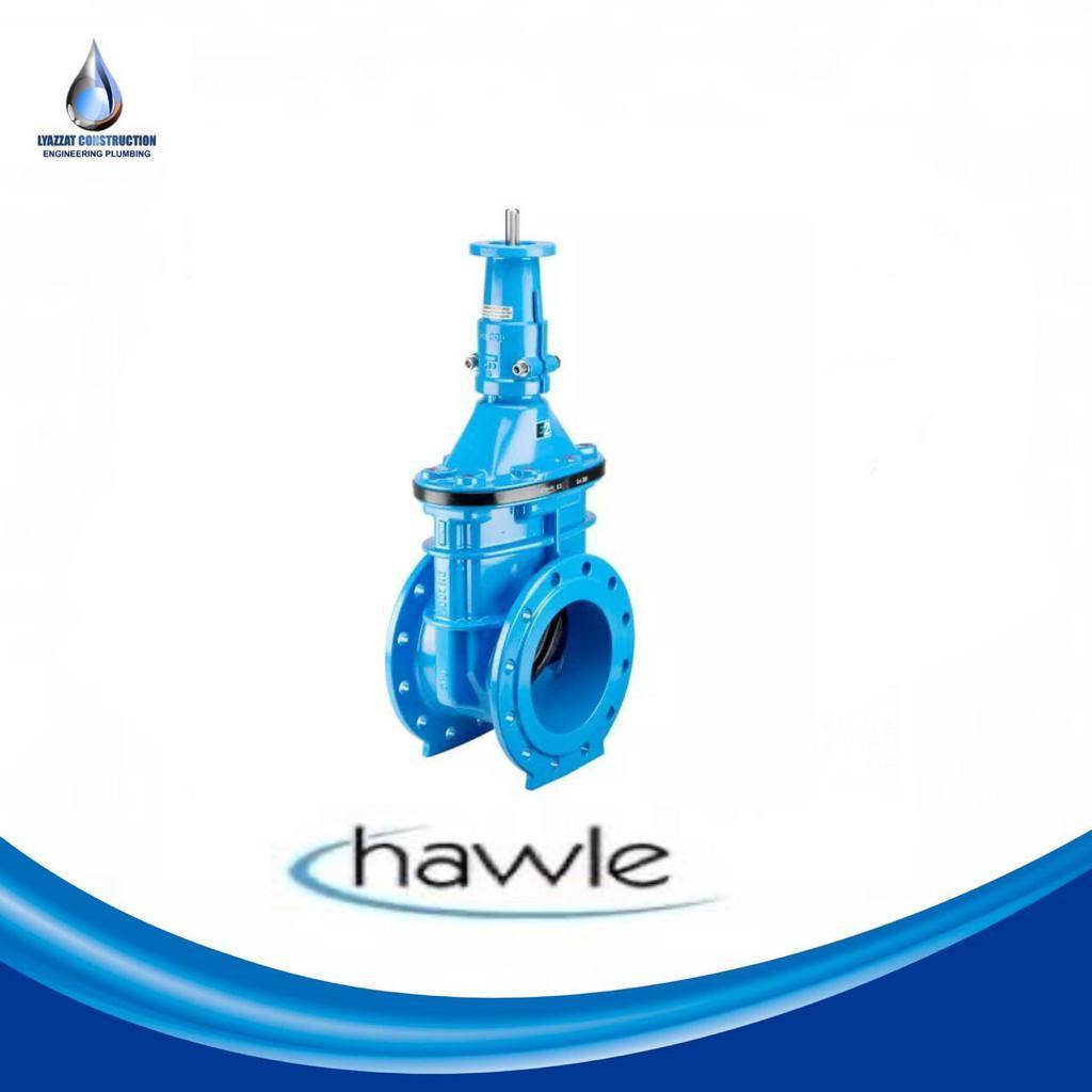 Задвижка Hawle (Хавле) DN 125 PN10-16 - фото 1