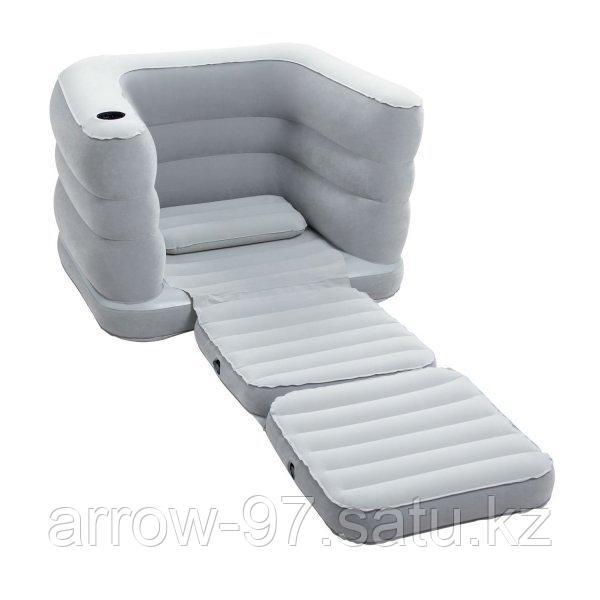 Надувное кресло BESTWAY с насосом в подарок - фото 2