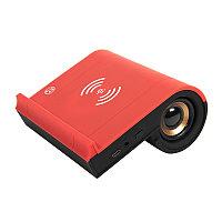 Колонка Bluetooth TIK-N-TALK, с функцией беспроводной зарядки, черный с красным, Красный, -, 30700 08