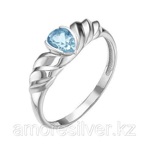 Серебряное кольцо с кристаллом    Teosa К630-4306ЮкрТ