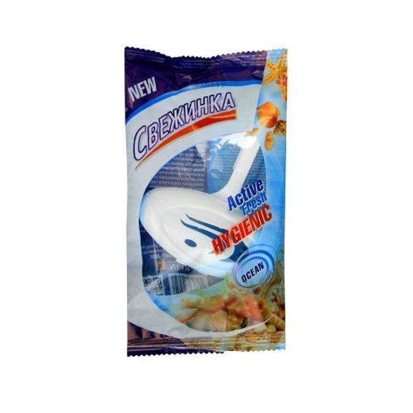 Освежающие таблетки для унитаза подвеска Свежинка (море)