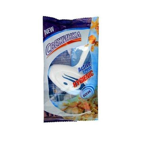 Освежающие таблетки для унитаза подвеска Свежинка (море), фото 2