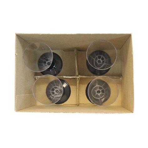 Упаковка д/бокалов б/руч. 203х203х250 4яч., d100мм, 50 шт, фото 2