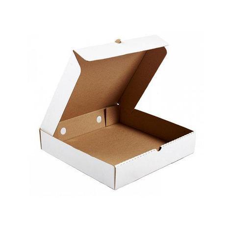 Коробка д/пиццы, 300х300х60мм, бел., картон В, 50 шт, фото 2
