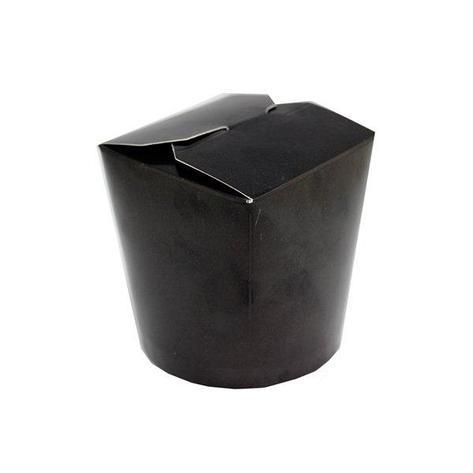 Коробка д/лапши, 700мл, ЧЕРНЫЙ, картон, 3 шт, фото 2
