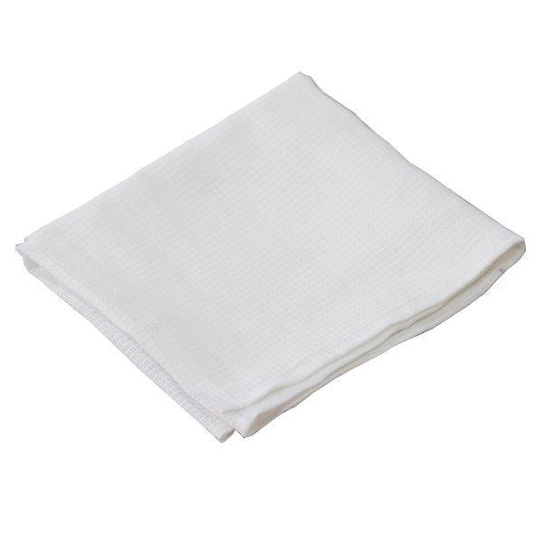 Полотенце вафельное 40х80 см 135 г/м3 (обшитые края)