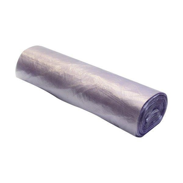 Пакет фасов. ПНД 30х40см (рул/без втулки) 10мкм, цвет фиолет.