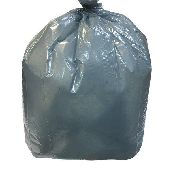 Мешок д/мусора 120л (50+20)x110см 55мкм бирюз. ПВД 25шт/уп, 25 шт