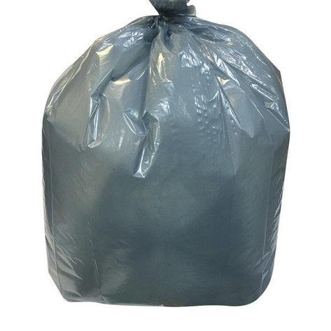 Мешок д/мусора 180л (70+20)х110см 55мкм бирюз. ПВД 25шт/уп., 25 шт, фото 2