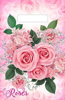 """Пакет (мешок) проруб. ПВД 30х20см, 30мкм, """"Воздушные розы"""", 100 шт, фото 2"""