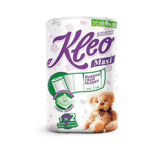 """Полотенца бумажные """"Kleo """" 2сл..(по 1 рул./уп.), 160лист."""