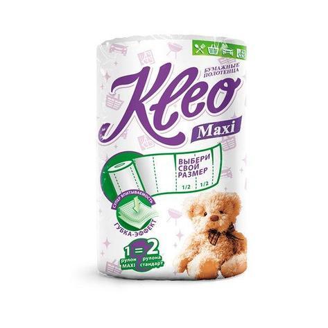 """Полотенца бумажные """"Kleo """" 2сл..(по 1 рул./уп.), 160лист., фото 2"""