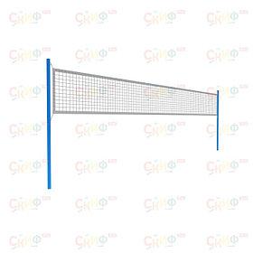 Комплект волейбольных стоек (без сетки) СО 2.78.01