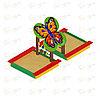 Песочница двойная Бабочка ИО 5.01.07-01, фото 4