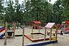 Песочный дворик с горкой ИО 6.01.05, фото 8