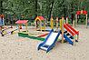 Песочный дворик с горкой ИО 6.01.05, фото 6